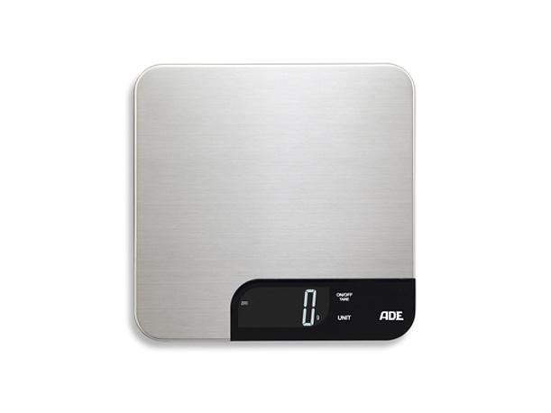 a4ad6bc98 ADE KE 1600 Alessia, Elektronisk kjøkkenvekt, 5 kg, 1 g, Rustfritt stål,  Rustfritt stål, Tabletop