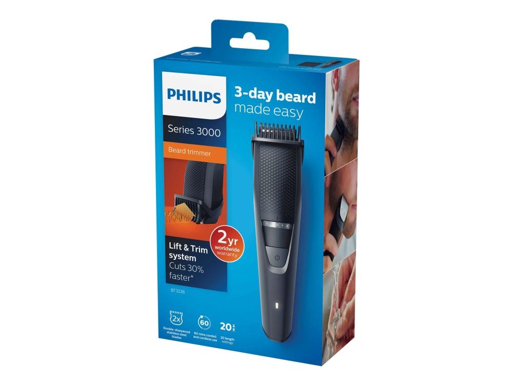 ComputerSalg.se   Philips BeardTrimmer Series 3000 BT3226 - Trimmer ... 519294bc4f23d