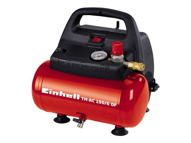 einhell th ac 190 6 of kompressor 6 liters tank oliefri. Black Bedroom Furniture Sets. Home Design Ideas