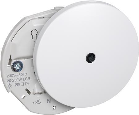 ComputerSalg.dk : LAURITZ KNUDSEN Lysdæmper lampeudtag 250W universal, rund Ø80mm, 'LK IHC ...
