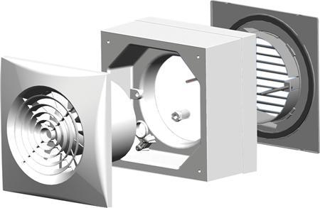 Thermex vindueskit for ventilator silent for Decor 100 silent
