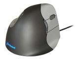 Bakker Elkhuizen Evoluent Vertical Mouse 4 - Mus - højrehåndet - optisk - 6  knapper - kabling - USB 5af11016b5195