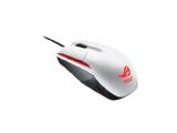 ASUS ROG Sica - Mus - höger- och vänsterhänta - optisk - 3 knappar -  kabelansluten - USB - Glaciärvit 1c821c9ef335e