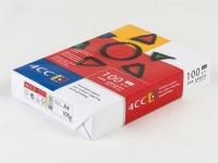Bilde av Kopipapir 4cc A4 100g T/farve Kopi/inkjet/laser 500ark/pak - (500 Ark Pr. Pakke)