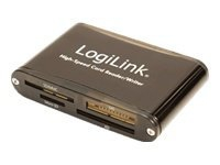 Bilde av Logilink Cardreader Usb 2.0 Extern - Kortleser (cf I, Cf Ii, Ms, Ms Pro, Mmc, Sd, Ms Duo, Xd, Ms Pro Duo, Minisd, Microsd, Sdhc, Minisdhc, Microsdhc) - Usb 2.0