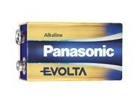 Panasonic Evolta 6LR61EGE - Batteri 9V - Alkalisk