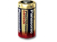 Panasonic CR 123, Single-use battery, Lithium, 3 V, 1400 mAh, 17 mm, 17 mm