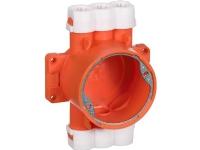 LAURITZ KNUDSEN Loftdåse for pladelofter PL-dåsetype PL55/16 mm halogenfri