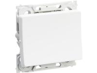 LAURITZ KNUDSEN Opus® 66 afbryder 1 polet 16A 250V hvid