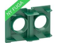 LAURITZ KNUDSEN Fikseringsplade for FUGA Air indmuringsdåse