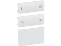 LAURITZ KNUDSEN FUGA® tangentsæt for batteritryk 2 sl hvid