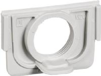 LAURITZ KNUDSEN Opus® 74 pakning til underlag med 1 stk M20 gevind lysegrå.