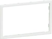 LAURITZ KNUDSEN Clic'line® clipsramme 2 modulfor 80 mm front hvid