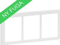 LAURITZ KNUDSEN FUGA SOFT designramme 3×15 modul hvid