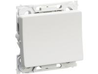 LAURITZ KNUDSEN Opus® 66 afbryder korrespondance 16A 250V lysegrå