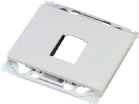 LAURITZ KNUDSEN Dataudtag OPUS66 ligeFor 1 stk. keystone konnektorFarve: hvid