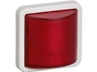 LAURITZ KNUDSEN Opus® 74 signallampeLED 12V AC/DC konstant/blinkrød