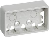 LAURITZ KNUDSEN Fuga® underlag 2 modul vandret lysegrå