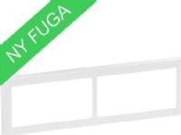 LAURITZ KNUDSEN FUGA SOFT designramme vandret 2×2 modul hvid