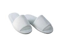 Slippers med åben tå hvid100 Par/krt