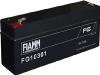 Bilde av Actec Fiamm Bly Akkumularor 6v/3,0ah. Til Alarm Og Backup Med Spadesko 4,75mm/faston 187 - L134xb34xh60mm