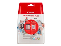 Canon CLI-581XL C/M/Y/BK Photo Value Pack