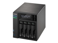 Bilde av Asustor As6404t - Nas-server - 4 Brønner - Sata 6gb/s - Raid 0, 1, 5, 6, 10, Jbod - Ram 8 Gb - Gigabit Ethernet - Iscsi