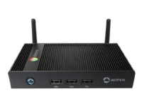 Bilde av Aopen Chromebox Mini - Mini-pc - 1 X Cortex-a17 Rk3288c - Ram 4 Gb - Ssd - Emmc 32 Gb - Mali-t764 - Gige - Wlan: Bluetooth 4.0, 802.11b/g/n/ac - Chrome Os - Monitor: Ingen