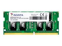 Bilde av Adata Premier Series - Ddr4 - Modul - 8 Gb - So Dimm 260-pin - 2400 Mhz / Pc4-19200 - Cl17 - 1.2 V - Ikke-bufret - Ikke-ecc