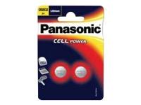 Panasonic CR2032L/2BP - Batteri 2 x CR2032 - Li - 220 mAh