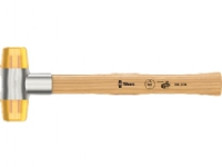 Wera 05000010001 Rekylfri hammare Plast Trä Brun Guld Silver 265 cm 87 mm