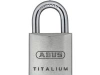 Bilde av Abus 64ti/20 B/dfnli, Tradisjonell, Nøkkellås, Bruk Flere Nøkler, Aluminium, Herdet Stål, 2 Cm