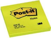 Bilde av Post-it Self-adhesive Pad 76x76/100k Neon Yellow (ft510010174)