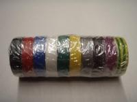 Anticor 15mm PVC insulating tape 10m various colors 10pcs