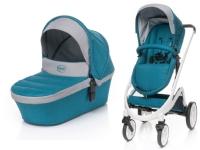 Bilde av 4baby Stroller Cosmo Stroller 2in1 Dark Turquoise