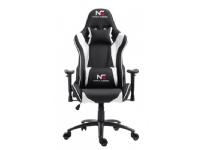 DCS Nordic Gaming Racer Chair White Black