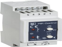 LAURITZ KNUDSEN PIR kontrilenhed for sensor10A 230V bredde 36 mm