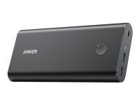 Bilde av Anker Powercore+ 26800 Pd - Strømbank - 26800 Mah - 96.48 Wh - 3 A - 3 Utgangskontakter (2 X Usb, Usb-c) - På Kabel: Micro-usb - Svart