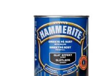 Hammerite glat sort