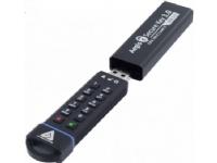 Bilde av Apricorn Aegis Secure Key 3.0 - Usb-flashstasjon - Kryptert - 1 Tb - Usb 3.0 - Fips 140-2 Level 3
