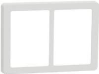 LAURITZ KNUDSEN FUGA Base 63 designramme 2×15 modul hvid