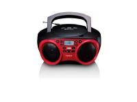 Lenco SDC-501, 1,2 kg, Rød, Bærbar CD-afspiller