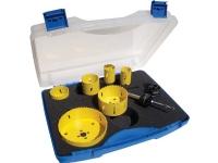 PRO-FIT ProFit BM hulsavesæt 32-35-51-54-76-92-114mmmed holder og adapter