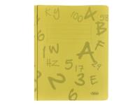 Bilde av Arbejdsmappe Actual, A4, Karton, Gul, Pakke A 100 Stk.