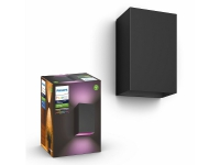 Philips Resonate Hue WACA Wall Lantern Black