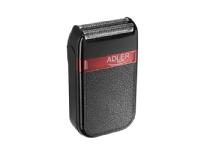 Bilde av Adler Ad 2923, Barberingsmaskin, Lysbildeviser, Svart, Batteri, Innebygd Batteri, 45 Min