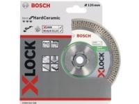 Bosch DIAMANTSKIVE X-LOCK HÅRD CERAMIC 125X16