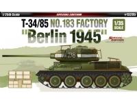 Bilde av Academy T-34/85 No.183 Factory Berlin 1945