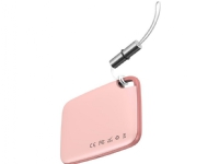 Bilde av Baseus Baseus T2 Bluetooth Locator With Leash (pink)