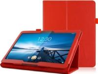 Bilde av Tablet Case 4kom.pl Stand Case For Lenovo Tab M10 10.1 Tb-x605 Red Universal